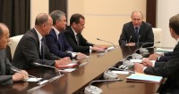 Путин обсудил с членами Собвеза итоги саммита БРИКС