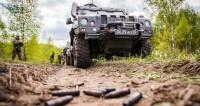 Военные, Спецназ, Бронеавтомобиль, Оружие, гильзы
