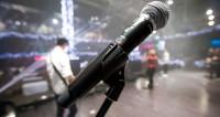 концерт, музыка, выступление, сцена, музыкальные инструменты, микрофон, певица, певец