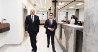 Алиев открыл в Баку новый логистический центр