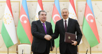 Азербайджан и Таджикистан подписали 12 новых документов о сотрудничестве