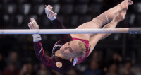 Российская гимнастка Ангелина Мельникова завоевала «серебро» ЧЕ