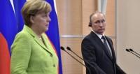 "Фото: ""Сайт президента РФ"":http://kremlin.ru/, путин и меркель, меркель"
