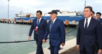 Исторический проект. Казахстан открыл крупнейший порт в Каспийском море
