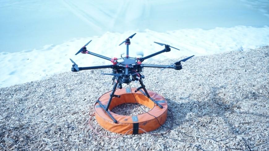 Тактико-специальные учения МЧС, Вертолет, Дрон, Судно на воздушной подушке
