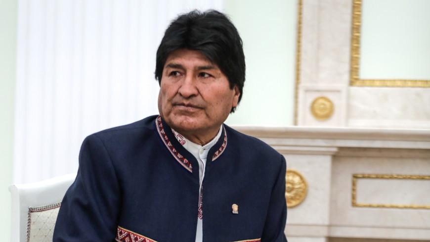 Президент Боливии лишился своих регалий
