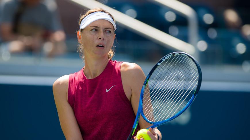 Мария Шарапова пробилась во второй круг US Open