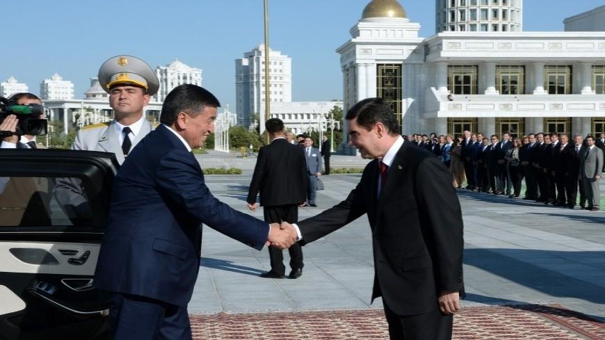 Бердымухамедов и Жээнбеков обсудили в Ашхабаде двусторонние отношения