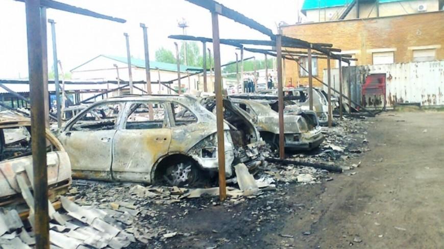 В Швеции неизвестные в масках сожгли более 80 машин