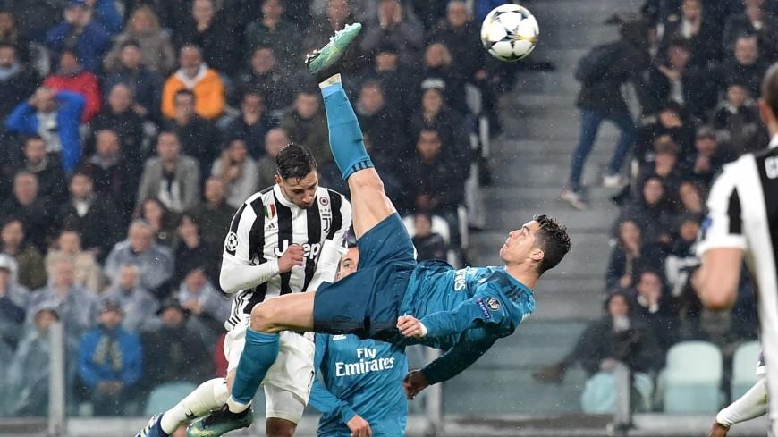 Криштиану Роналду – автор лучшего гола сезона 2017/18 по версии УЕФА