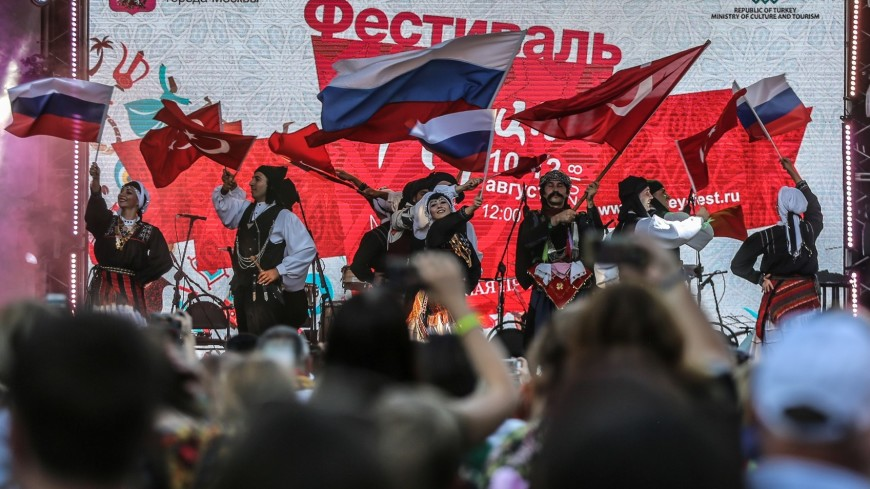 Фестиваль в Москве предварил перекрестный год культуры и туризма России и Турции