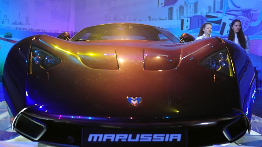 Модернизированный спорткар Marussia B1 выставили на продажу в Новосибирске