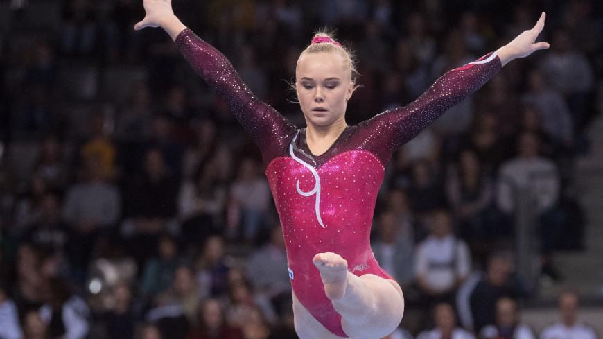 Российские гимнастки выиграли ЧЕ в командных соревнованиях