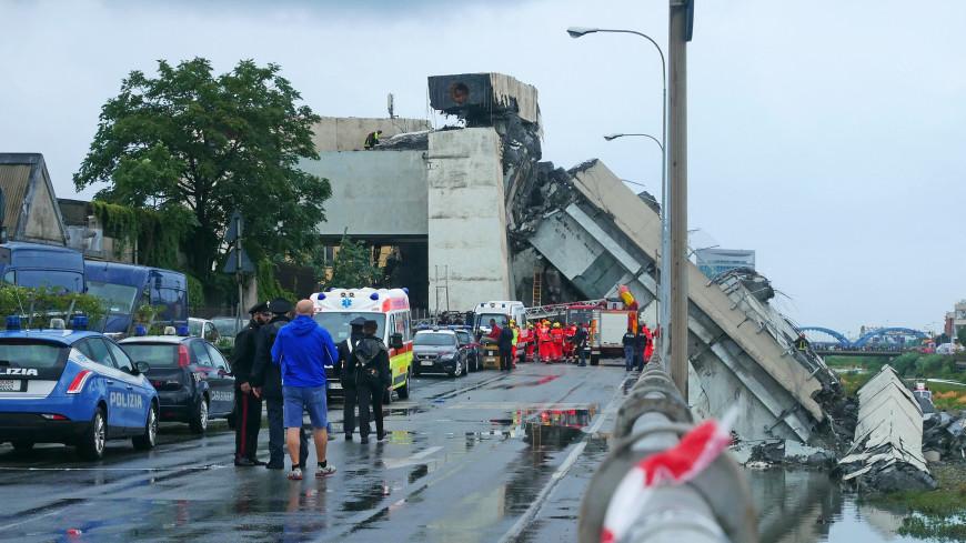 Премьер Италии уточнил число жертв обрушения моста в Генуе