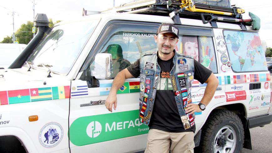 Байкер из Таджикистана объедет весь мир для помощи «солнечным детям»