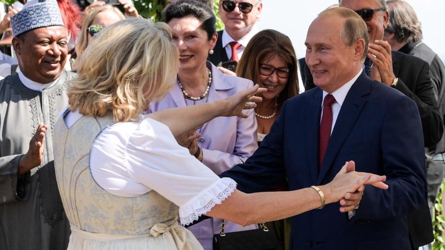 Семейного счастья и благополучия: тост Путина на свадьбе главы МИД Австрии