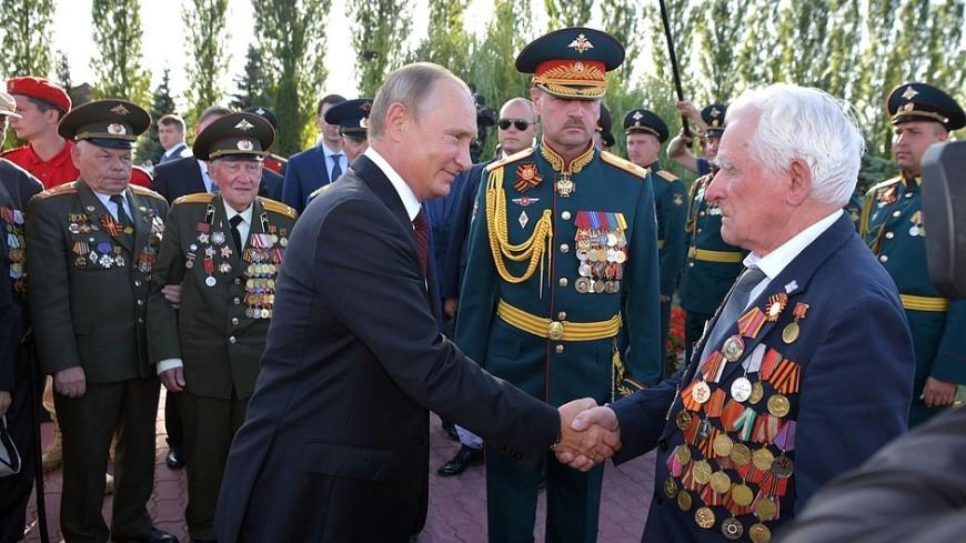 Путин поздравил жителей Курска с 75-летием победы в Курской битве