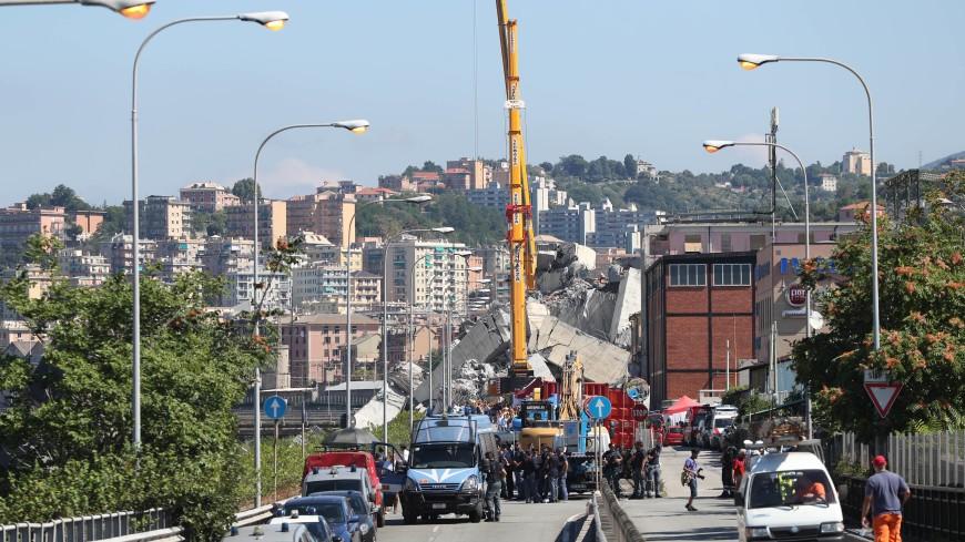 Обрушение моста в Генуе: в офисы Autostrade per l'Italia нагрянули с обысками