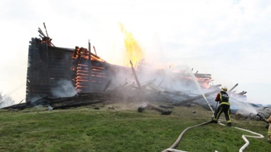 Сгоревшая в Карелии старинная церковь не была застрахована