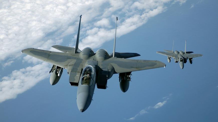 В США показали видео сброса ядерной бомбы с истребителя F-15 в Неваде