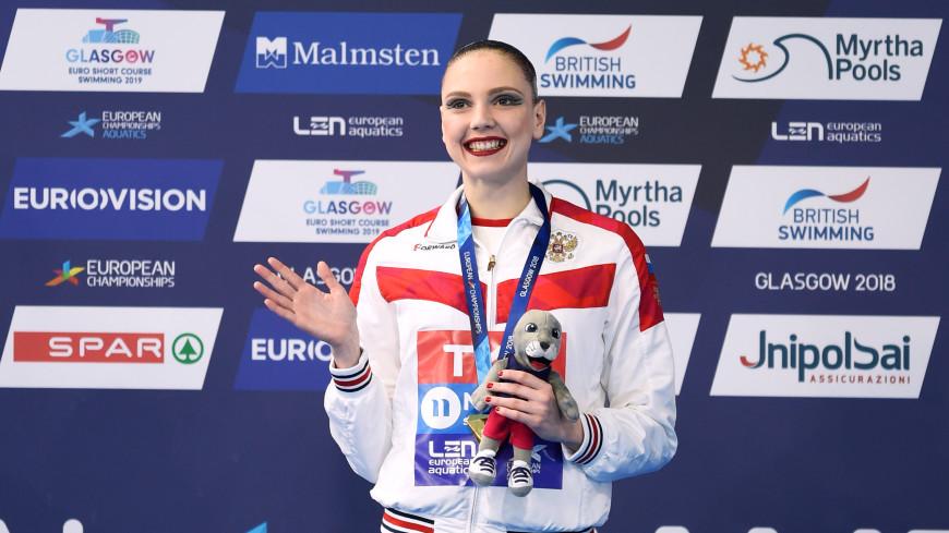 Российская синхронистка Колесниченко взяла очередное золото на ЧЕ
