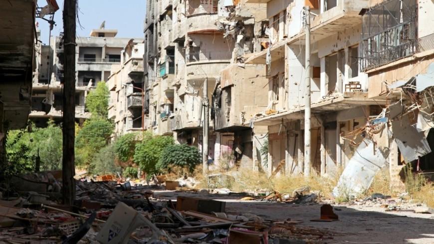 """""""Фото: Сергей Любавин, «МИР 24»"""":http://mir24.tv/, армия в сирии, сирия, война, в сирии, военные, война в сирии, военный, гражданская война, повседневная жизнь в сирии, разрушения, взрывы, сирийский город, вооружение, боевые действия"""
