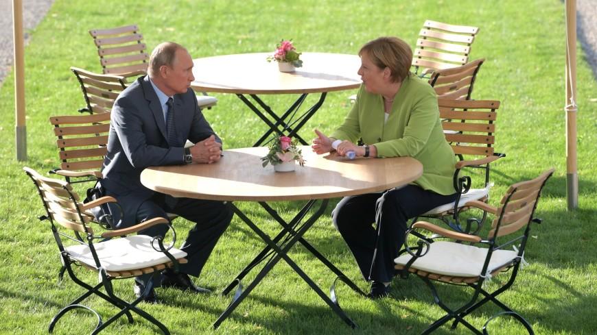 Переговоры Путина и Меркель продолжались три часа