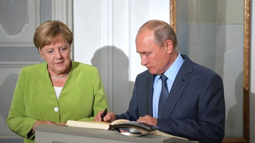 Песков: Путин рассказал Меркель, как Москва поможет сирийским беженцам