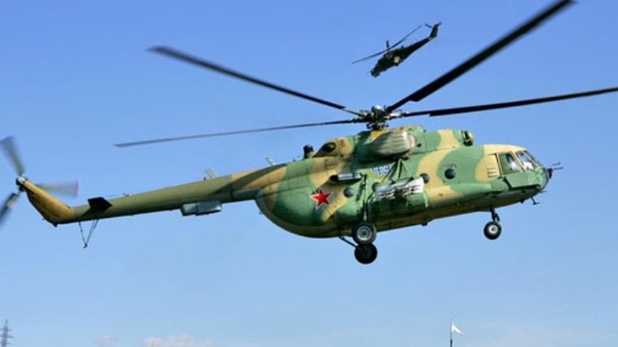 """Фото: """"Минобороны России"""":http://function.mil.ru/ (автор не указан), спасатели, ми8, ми-8, вертолет"""