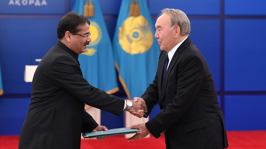 Назарбаев: Членство Пакистана в ШОС придаст новый стимул работе организации