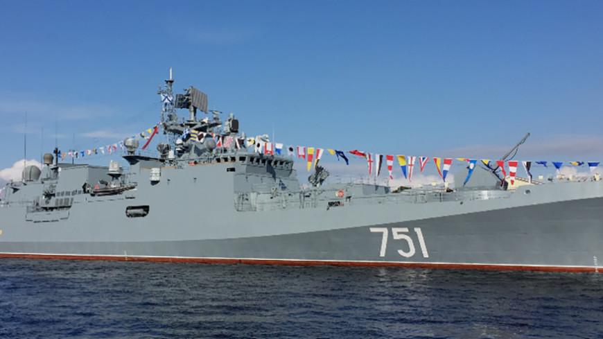 Россия направила к берегам Сирии «Адмирал Эссен» и «Валентин Пикуль»