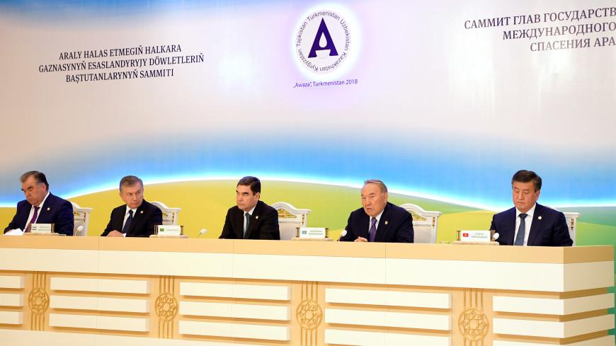 Назарбаев: Нужно создать водно-энергетический консорциум Средней Азии