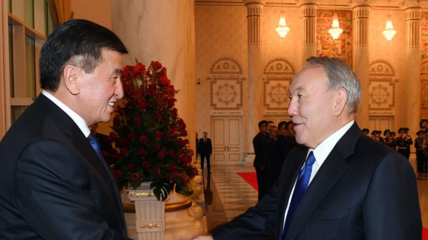 Назарбаев и Жээнбеков по телефону обсудили двустороннее сотрудничество