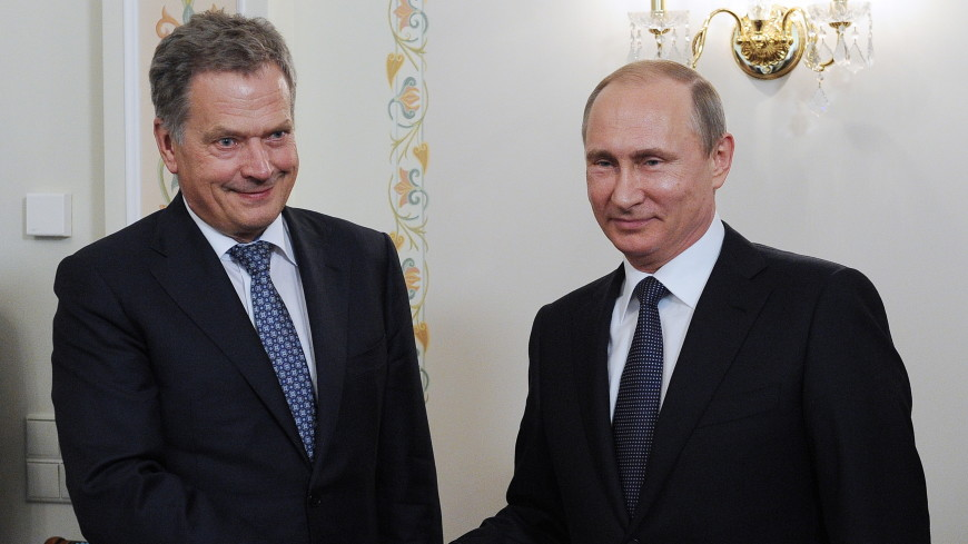 Путин обсудит с Ниинисте в Сочи сотрудничество России и Финляндии
