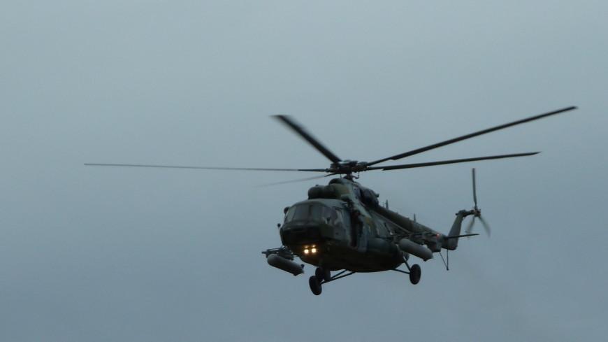 Под Челябинском совершил жесткую посадку военный вертолет Ми-8