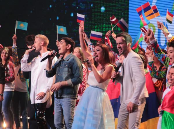 Финал музыкального шоу «Во весь голос» на телеканале «МИР 24»