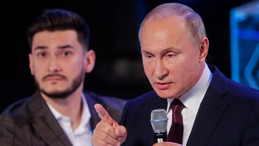Путин: Советский штамп о том, что бизнес – жульничество, нужно заменить