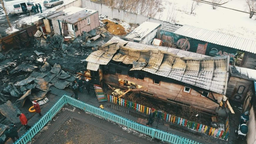 Специалисты «Мосприроды» помогут сгоревшему в Москве приюту