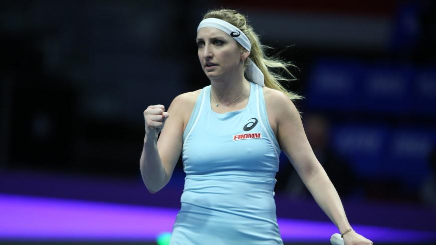 Бачински станет первой соперницей Шараповой в новом сезоне WTA