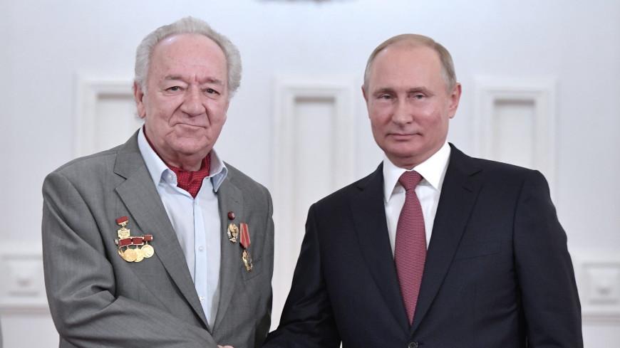 Путин и Медведев отметили любовь к музыке и талант Юрия Темирканова