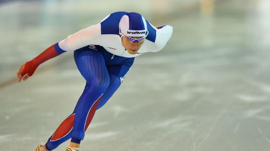 Конькобежка Шихова взяла серебро на дистанции 1000 м на этапе Кубка мира