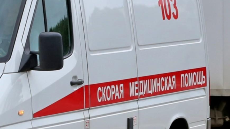 Под Красноярском микроавтобус с детьми столкнулся с фурой