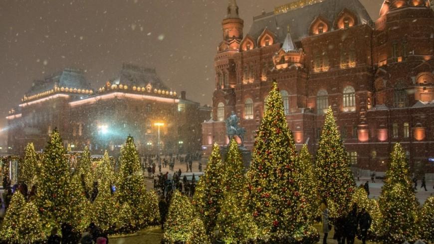 Какая погода ждет жителей СНГ в новогоднюю ночь