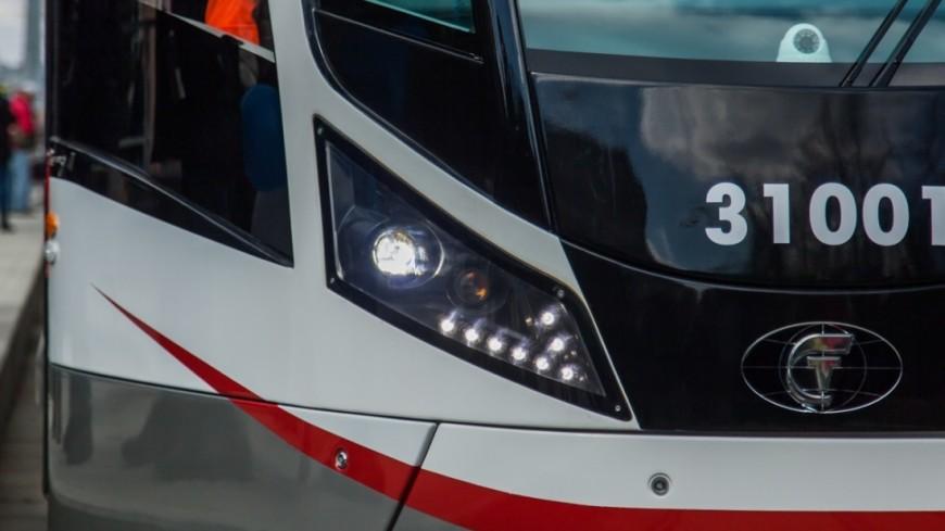 В Москве прошел парад трамваев.,парад трамваев, трамвай, ,парад трамваев, трамвай,