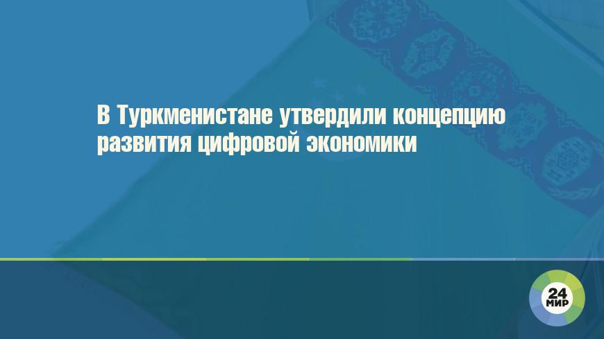 В Туркменистане утвердили концепцию развития цифровой экономики