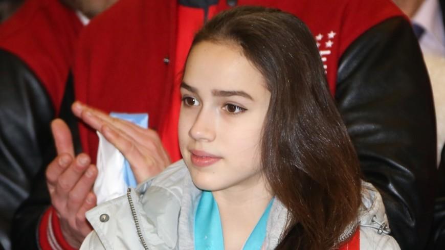 Алина Загитова поблагодарила болельщиков за поддержку