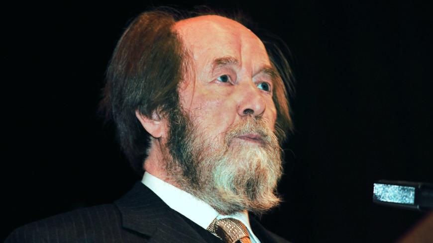 Редкие кадры: «МИР» к 100-летию Александра Солженицына покажет его уникальное интервью