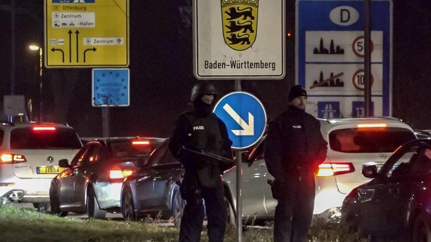 Стрелок из Страсбурга на угнанном такси мог скрыться в Германии