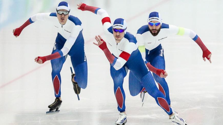 Российский конькобежец Семериков взял золото на четвертом этапе Кубка мира