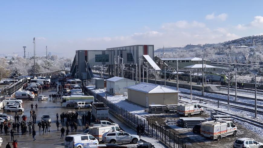 В Анкаре после смертельной аварии с экспрессом восстановили движение поездов
